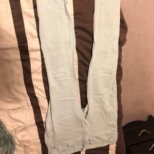 Mint soft stretch jeans